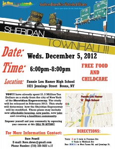 Sheridan 12-5-12 TH Flier English