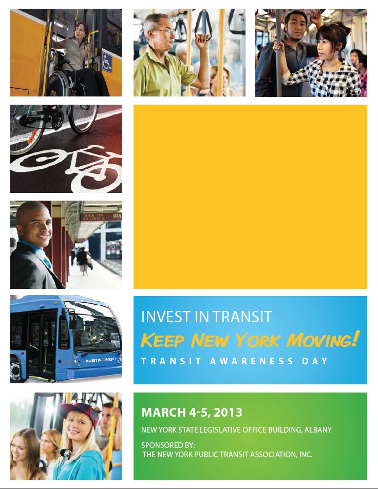 Transit Awareness Day takes place March 4 and 5 in Albany.