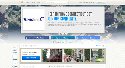 Members of the public can submit ideas at www.TransformCT.org. (Click to visit.)