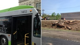 CTfastrak bus and I-84 widening | Joseph Cutrufo
