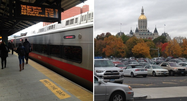 Metro-North commuters are limited to $130 in pre-tax earnings for monthly transit fares, while commuters who pay for parking can use up to $245. Photos: Joseph Cutrufo/TSTC