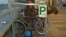 Assembly Bill 2205 would require secure bike parking at all NJ Transit rail stations.| Photo: Steven Vance/Flickr