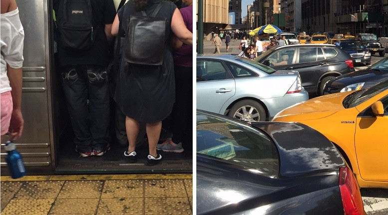 Congestion underground or congestion above ground. Take your pick. | Images: Joseph Cutrufo/TSTC